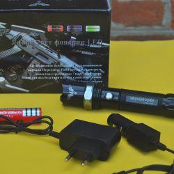 Светодиодный фонарик с оптическим зумом