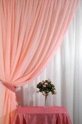 Curtain voilic peach 400 * 270