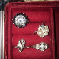 Inele de argint