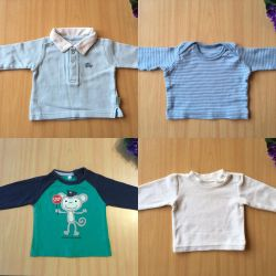Blouses from 0 to 3 months