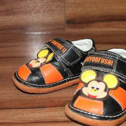 Bright children's shoes