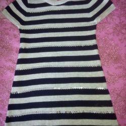 Вязаное платье (одели один раз)