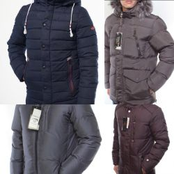 New men's down jackets r.46-56