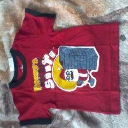 Παιδικά παιδικά μπλουζάκια