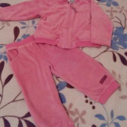 Jacket + pants. Size 9 months - 1.5 years.