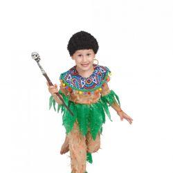Children's carnival costume Papuan