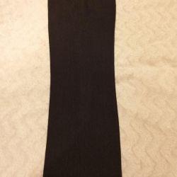 Παντελόνι σφιχτό, κλασικό, σκούρο γκρι p. 48-50