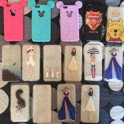 Silicone covers for iPhone 6; 6s