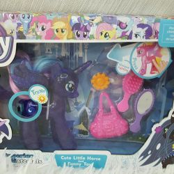 Set My Little Pony glowing with accessories
