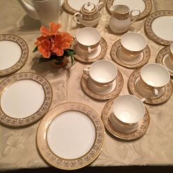 Set de ceai Emerald Prestige, 21 articole.