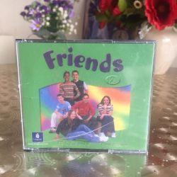 Friends 2 CDs in English 4 pcs.