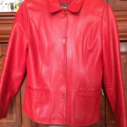 Jacket genuine leather size 46