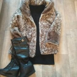 Women's fur coat!