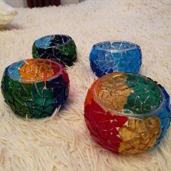 Handmade candlesticks
