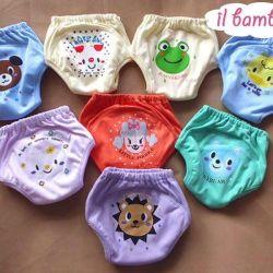 Three-layer panties for potty training
