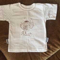 Νέο !!! T-shirt rn 68-72 cm περιοχή Megagrin