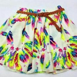 Feather skirt, new