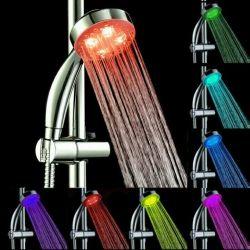 Watering shower backlit