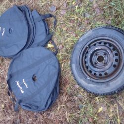 Covers for convenient storage of wheels