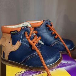 Ортопедические ботинки детские