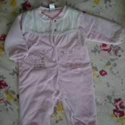 Overalls for the girl (62 cm 3-6m) Turkey