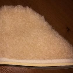 Warm slippers New