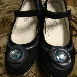 Shoes blue 34 size