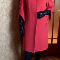 Raglan crimson coat 42-46 rr