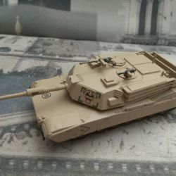 Model of the M1 Abrams tank