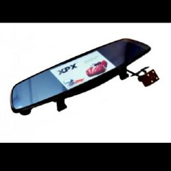 Mirror with video recorder and rear view camera