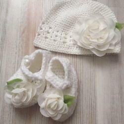 New set handmade, knitting