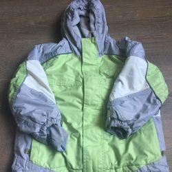 Куртка горнолыжная сноуборд детская р-р 116