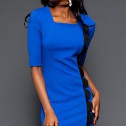 плаття синє 46-48