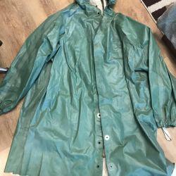 Raincoat rubber for fishing