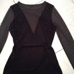 New velvet blouse