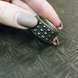 Ring realizat în Italia металли Brățară din metal