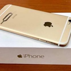 New iPhone 6 (32gb), gold
