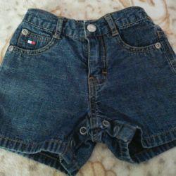 Denim shorts 6-12 months