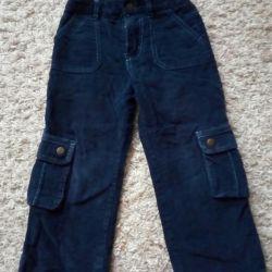 Продам вельветовые брюки