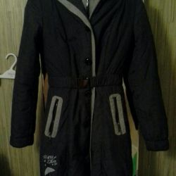 Coat on a synthetic winterizer