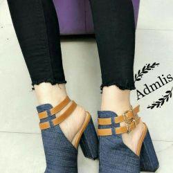 Women's shoes platform heel