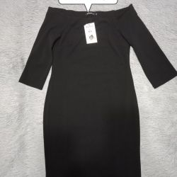 Dress new 46 stretches