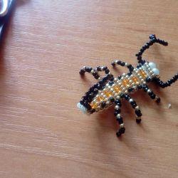 Bead Scorpions σε μπρελόκ