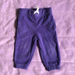 Fleece pants Carters for 9 months