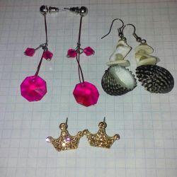 Earrings, jewelry, jewelry