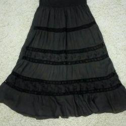 Italian skirt to the floor