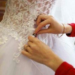 Продам шикарное платье свадебное