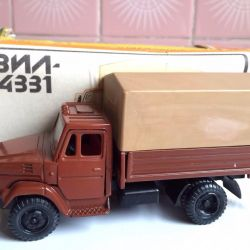 Model scale 1/43 ZIL-4331 in a box of the USSR