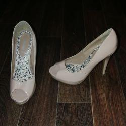 New Look p.37 shoes (beige summer sandals)