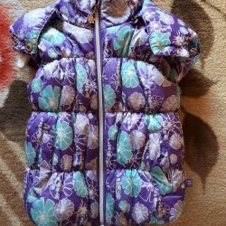 Vest for the girl sweetberry 98
